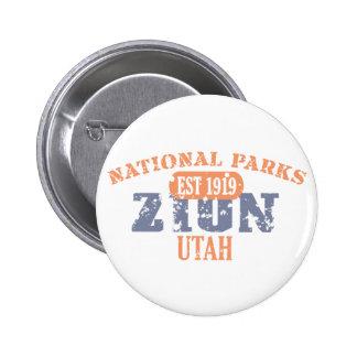 Zion National Park 2 Inch Round Button