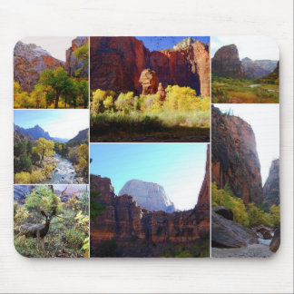 Zion National Park Collage Mousepad