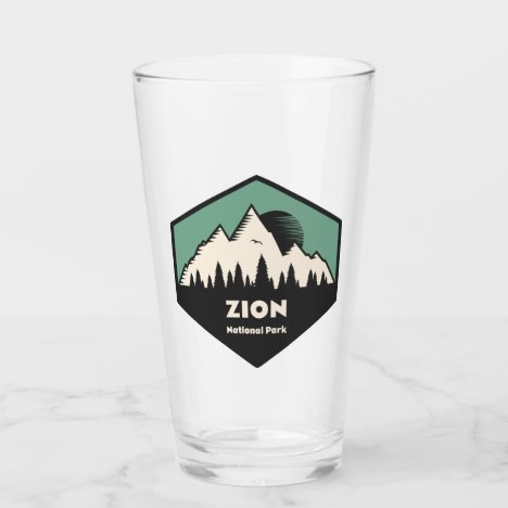 Zion National Park Glass