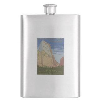 Zion National Park Hip Flask