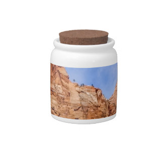 Zion national park in Utah Candy Jar