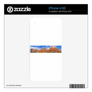 Zion national park in Utah Decal For iPhone 4
