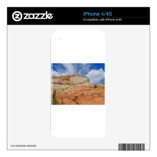 Zion national park in Utah Decal For The iPhone 4S