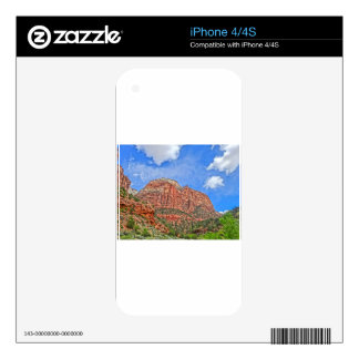 Zion national park in Utah Decals For The iPhone 4S
