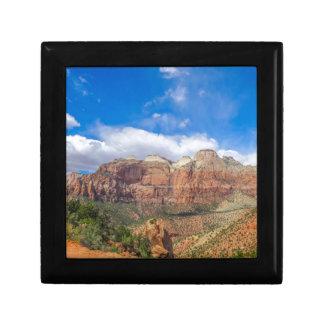 Zion national park in Utah Gift Box