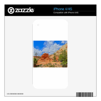 Zion national park in Utah iPhone 4S Decal