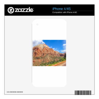 Zion national park in Utah Skins For The iPhone 4S