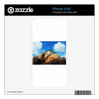zion national park iPhone 4 skin