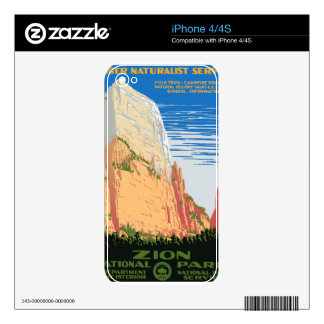 Zion National Park iPhone 4 Skins