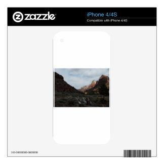 zion national park iPhone 4S skins