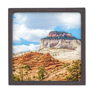 Zion national park jewelry box