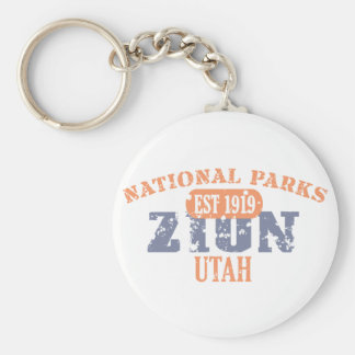 Zion National Park Keychain