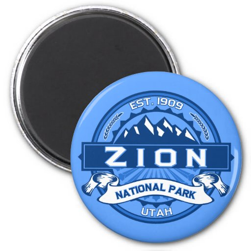 zion national park magnet zazzle With kitchen cabinets lowes with zion national park sticker