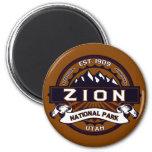 Zion National Park Magnet Magnet