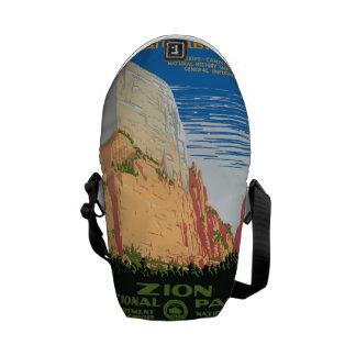 Zion National Park Messenger Bag