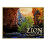 Zion National Park Post Cards