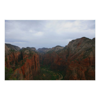 zion national park posters
