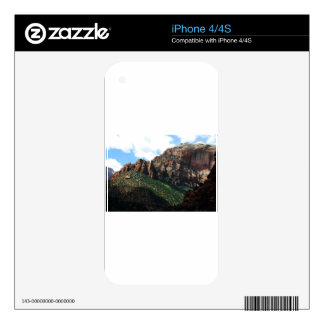 zion national park skin for iPhone 4
