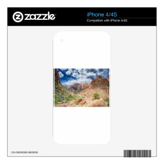 Zion national park skins for iPhone 4