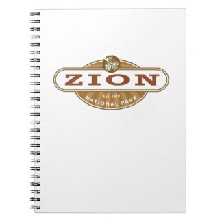 Zion National Park Spiral Note Books