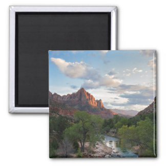 Zion National Park - The Watchman magnet