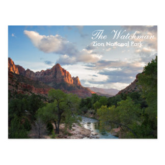 Zion National Park - The Watchman postcard