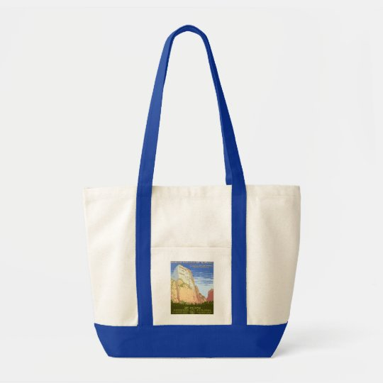 Zion National Park Tote Bag