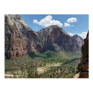 Zion National Park Uath Postcard