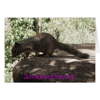 Zion National Park, Utah Greeting Card