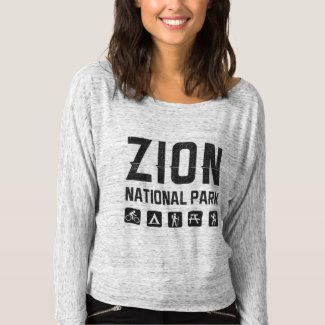 Zion National Park (Utah) flowy shirt