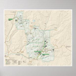 Utah Map Art & Framed Artwork | Zazzle
