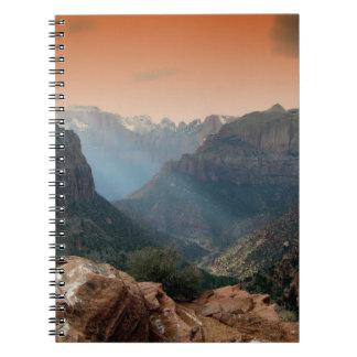 Zion National Park, Utah Notebook