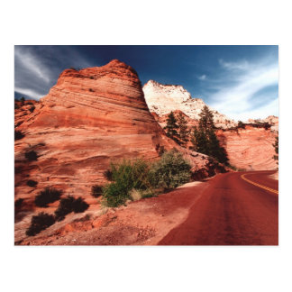 Zion National Park Utah Post card - Customized