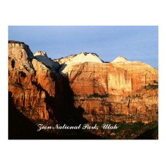 Zion National Park, Utah Postcard