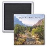 Zion National Park, Utah Refrigerator Magnet
