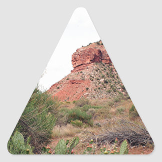 Zion National Park, Utah, USA 7 Triangle Sticker