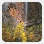 Zion National Park, Utah. USA. Ephemeral Square Sticker