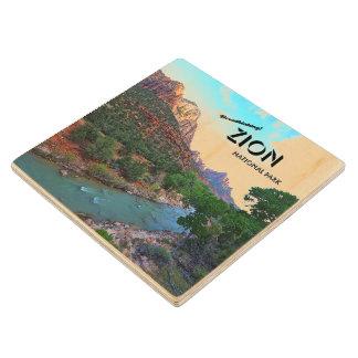 Zion national Park, Utah Wooden Coaster