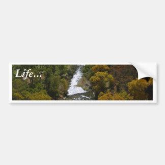 Zion National Park Valley Valleys Streams Bumper Sticker