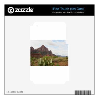 Zion National Park, Watchman, Utah, USA 7 iPod Touch 4G Skins