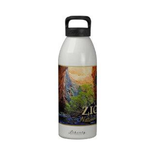 Zion National Park Water Bottles
