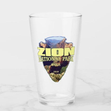 Zion NP (arrowhead) Glass