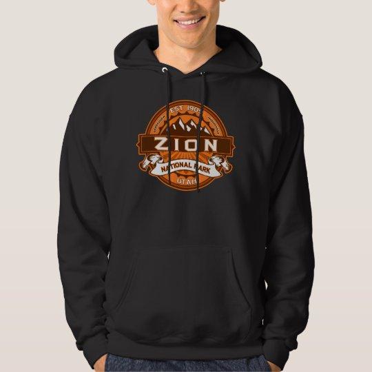 Zion Pumpkin Logo For Dark Hoodie