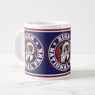 Zion Ram Circle Giant Coffee Mug