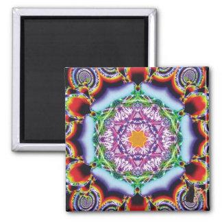 Zionesque Kaleidoscope Magnet