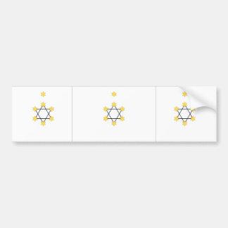 Zionist, Israel Car Bumper Sticker