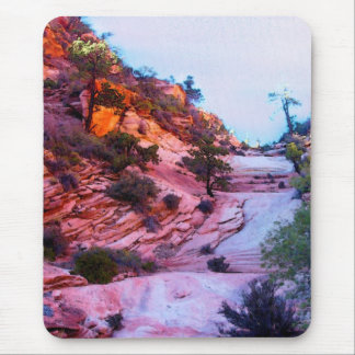 Zion's splender of color mouse pad