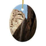 Zion's Weeping Rock I Ceramic Ornament