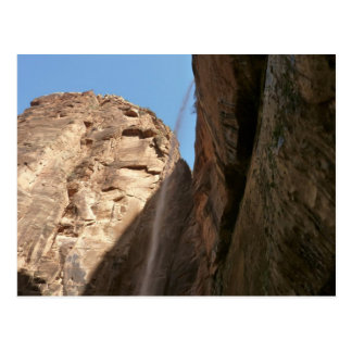 Zion's Weeping Rock I Postcard
