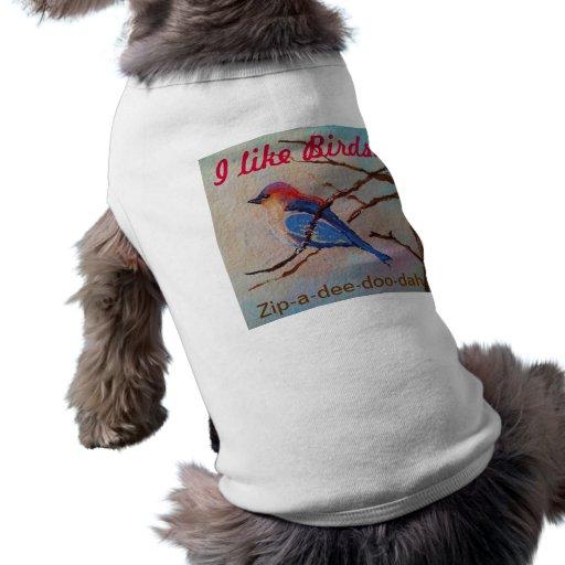 Zip-a-dee-doo-dah Pet T-shirt